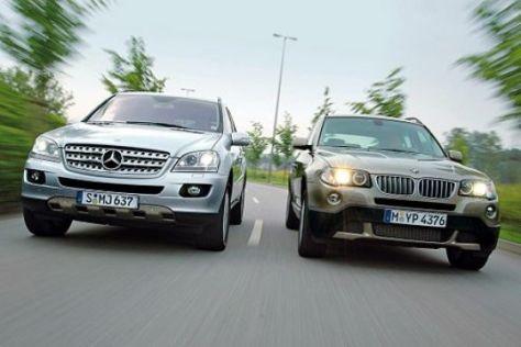 Test BMW X3 gegen Mercedes ML