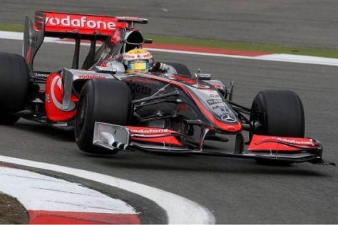 Lewis Hamilton fuhr am Freitag überraschend die beste Zeit