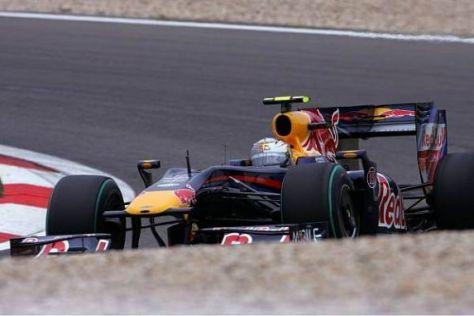 Sebastian Vettel verpasste die Bestzeit am Freitag nur knapp