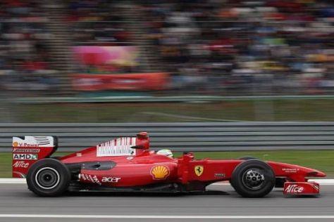 Felipe Massa hofft, auf einen Platz in den Top 10
