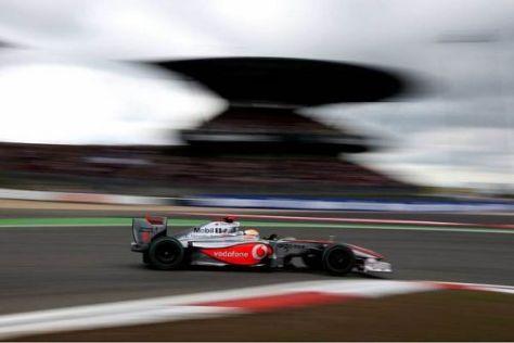 Lewis Hamilton konnte einen deutlichen Leistungssprung ausmachen