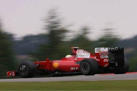 Felipe Massa hatte wie Kimi Räikkönen keine frischen Reifen mehr