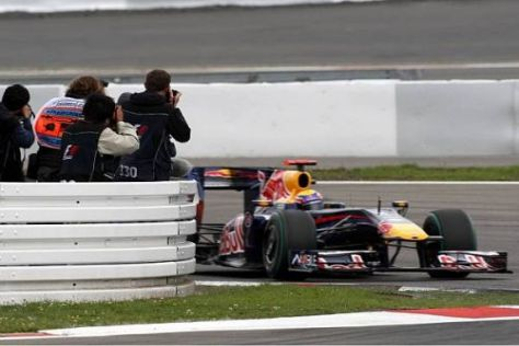 Mark Webber hat allerbeste Chancen auf seinen ersten Grand-Prix-Sieg