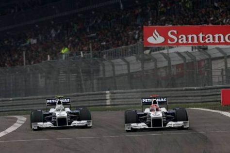 Nick Heidfeld und Robert Kubica reisen ohne Punkte ab