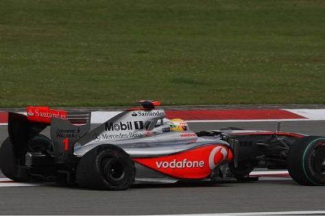 Ein Reifenschaden verhinderte heute ein Topergebnis von Lewis Hamilton