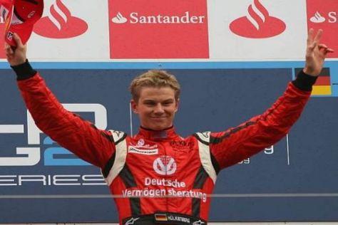 Tabellenführer Nico Hülkenberg: Über den GP2-Titel in die Formel 1?
