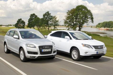 Audi Q7 TDI Clean Diesel/Lexus RX 450h