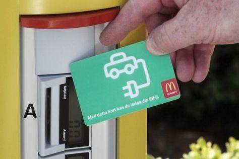 McCharger: Elektrotanken bei McDonald's