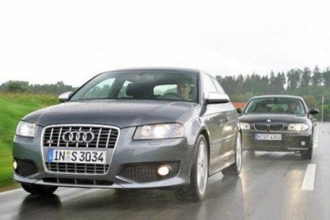 Test Audi S3 gegen BMW 130i
