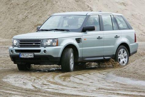 Partikelfilter bei Land Rover