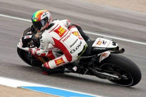 Alex de Angelis will auf dem Sachsenring den Anschluss nach vorn schaffen
