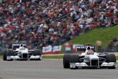Robert Kubica und Nick Heidfeld hoffen auf Punkteplätze in Ungarn