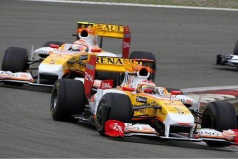 Piquet und Alonso: Endlich gehen beide mit dem neuen Aeropaket an den Start