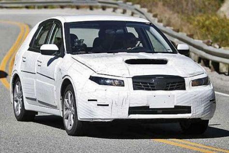 Erlkönig Subaru Impreza