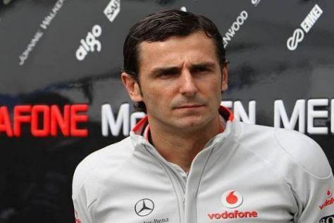 Pedro de la Rosa bestritt seinen bisher letzten Renneinsatz in Interlagos 2006