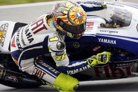 Meisterlich: Valentino Rossi sicherte sich am Sachsenring die Pole-Position