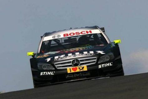 Ralf Schumacher konnte das Potenzial der C-Klasse in Zandvoort nicht nutzen