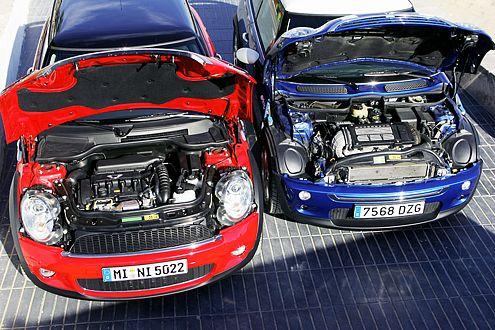 Herzstück des neuen Cooper S: der Alu-Motor mit Direkteinspritzung und Turbolader.