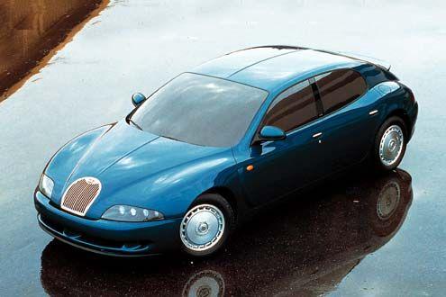 Bugatti-Studie EB112 (1993)