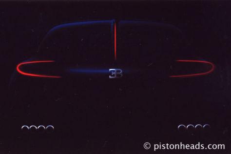 Bugatti Studie zur IAA 2009
