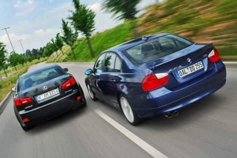 Test Alpina D3 gegen Lexus IS 220d TTE