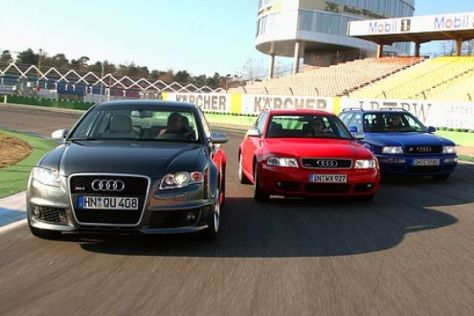 Starke Audi-Brüder im Test