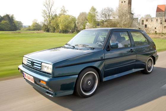 VW Rallye Golf II G60 Limited