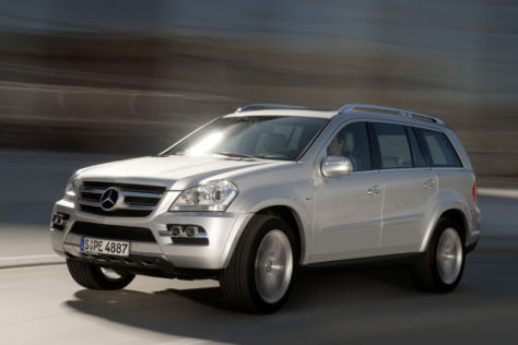 Mercedes GL 350 Bluetec Facelift 2009