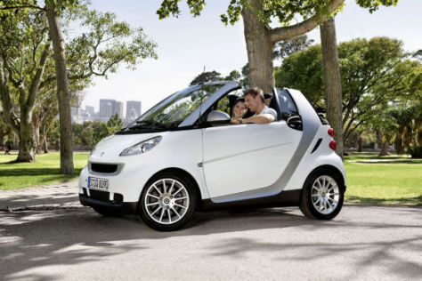 Smart fortwo cdi Modelljahr 2010
