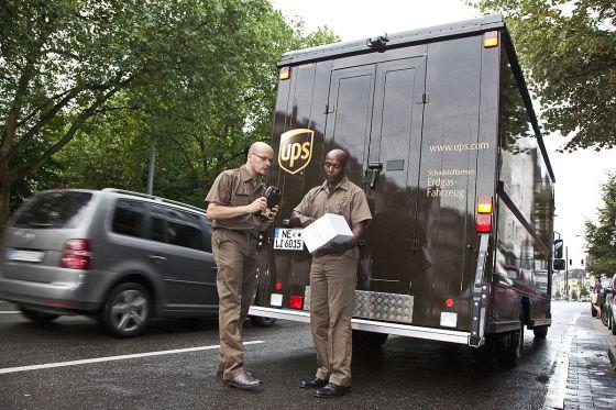 AUTO BILD bei UPS