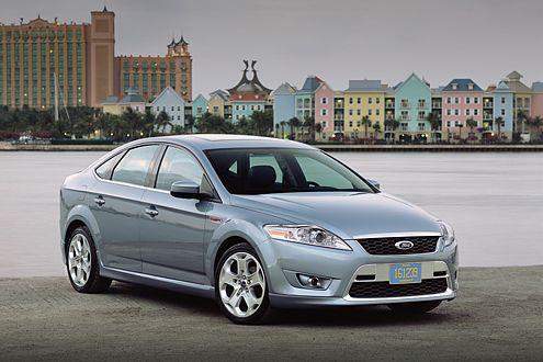 Ein Auto für James Bond: der neue Ford Mondeo.