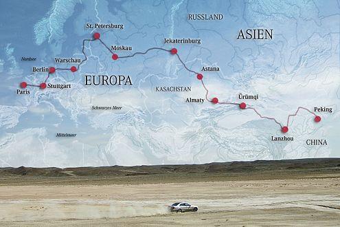 13.600 km von Europa nach Asien: Am 21.10. fällt der Startschuss.