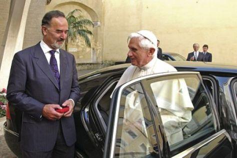 Phaeton für den Papst