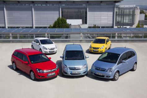 Opel LPG-Ecoflex Modelle