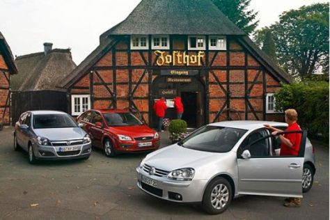 Test Opel Astra, Ford Focus, VW Golf