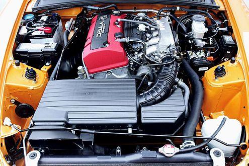 Sensibel, aber bei guter Pflege ohne Allüren: der Honda-Hochleistungsmotor.