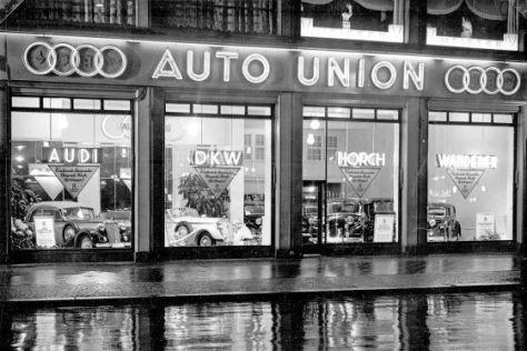 Die Geschichte der Auto Union