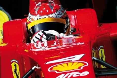 Alonso im Ferrari: noch eine Montage