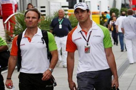 Adrian Sutils Rennen dauert auf dem Hungaroring nicht einmal eine Runde