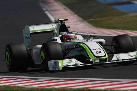 Rubens Barrichello löste ungewollt einen schweren Unfall aus