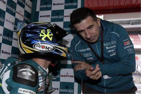 Jorge Martinez ist ab 2010 auch Teamchef einer MotoGP-Mannschaft