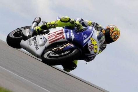 Rossi sicherte sich den besten Startplatz, ist aber mit dem Setup nicht zufrieden