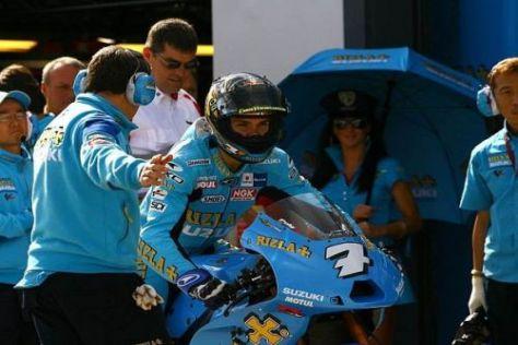 Das Suzuki-Team hat sich mit den Boxenstopps komplett verzockt