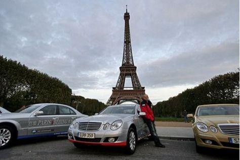 Paris-Peking, erste Etappe