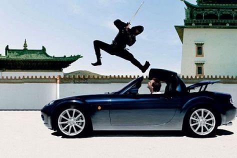 Werbekampagne Mazda MX-5
