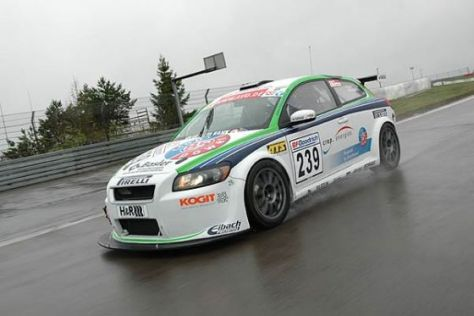 Tracktest Heico Volvo C30