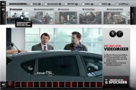 Screenshot Seat Leon-Videomixer
