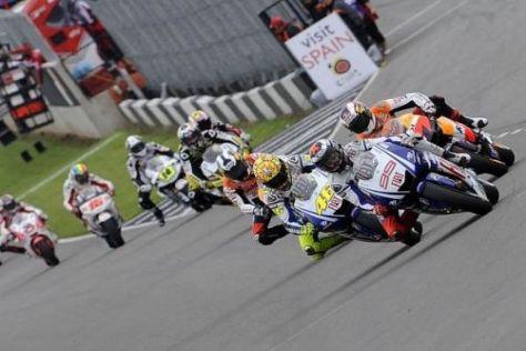 Die MotoGP-Stars sollen sich 2010 insgesamt 18 Mal bekämpfen