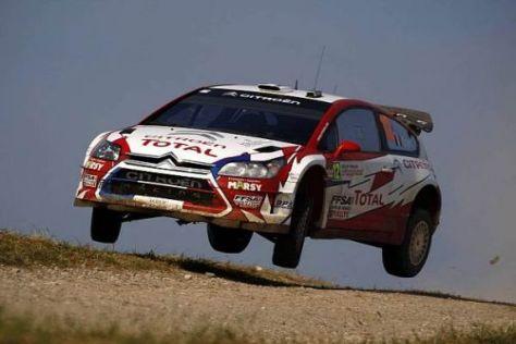 Sébastien Ogier wird erstmals in einem C4 WRC auf die finnischen Pisten gehen