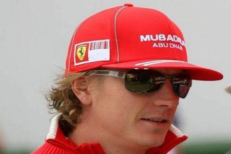 Kimi Räikkönen hofft in der laufenden Saison auf mindestens einen Sieg
